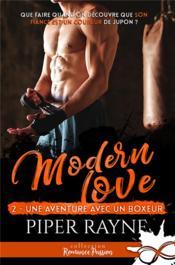 Modern love t.2 ; une aventure avec un boxeur - Couverture - Format classique