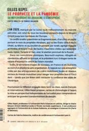 Le prophète et la pandémie ; du Moyen-Orient au jihadisme d'atmosphère - 4ème de couverture - Format classique