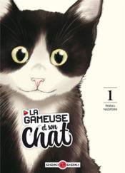 La gameuse et son chat T.1 - Couverture - Format classique