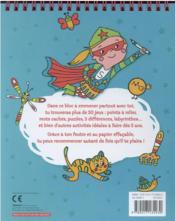Mes jeux de voyage : les jeux de mes 5 ans - 4ème de couverture - Format classique
