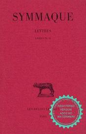 Lettres t.4 ; L9-10 - Intérieur - Format classique