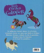 PETITS CONTES POUR... ; galoper - 4ème de couverture - Format classique