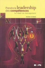 Prendre le leadership des compétences ; le réveil du management - Intérieur - Format classique
