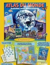 Monde stickers activity pack - Couverture - Format classique