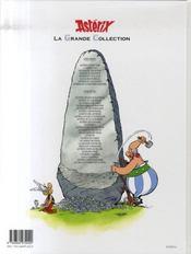 Astérix t.29 ; la rose et le glaive - 4ème de couverture - Format classique
