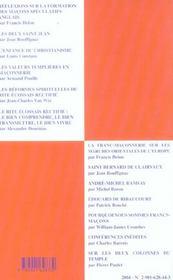 De l'imaginaire symbolique à l'expérience journalière - 4ème de couverture - Format classique