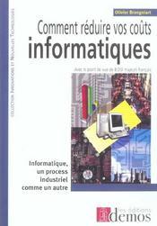 Comment Reduire Vos Couts Informatiques - Intérieur - Format classique