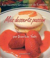 Mes Desserts Passion - Intérieur - Format classique