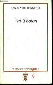 Val-Tholon - Couverture - Format classique