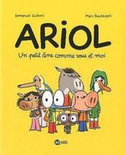 Ariol t.1 ; un petit âne comme vous et moi - Couverture - Format classique