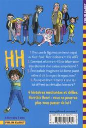 Horrible Henri ; le cadeau empoisonné - 4ème de couverture - Format classique