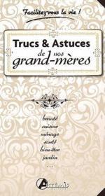 Trucs et astuces de nos grand-mères - Couverture - Format classique