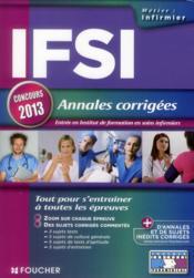telecharger IFSI – annales corrigees – concours 2013 livre PDF/ePUB en ligne gratuit