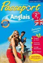 Passeport ; anglais ; de la 2nde à la 1ère ; cahier de vacances - Couverture - Format classique