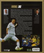 Livre d'or du football 2012 - 4ème de couverture - Format classique