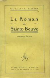 Le Roman De Sainte - Beuve. - Couverture - Format classique