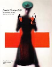 Erwin blumenfeld - studio blumenfeld - color, new york, 1941-1960 - Couverture - Format classique