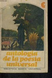 Antologia De La Poesia Universal - Couverture - Format classique