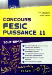 Concours FESIC, Puissance 11 ; tout-en-un - Couverture - Format classique