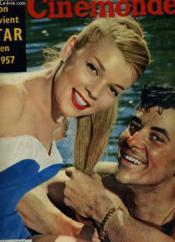 CINEMONDE - 25e ANNEE - N° 1199 - COMMENT ON DEVIENT STAR EN 1957 - Couverture - Format classique
