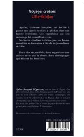 Voyages croisés, Lille Abidjan, Agathe et Mathurin - Couverture - Format classique
