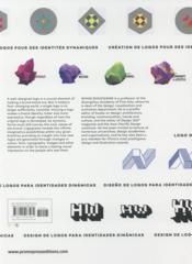Logograma ; logo design for dynamic identities - 4ème de couverture - Format classique