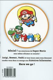 Super Mario ; manga adventures T.1 - 4ème de couverture - Format classique