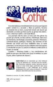 American gothic ; une mosaïque de personnalités américaines - Couverture - Format classique