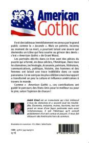 American gothic ; une mosaïque de personnalités américaines - 4ème de couverture - Format classique