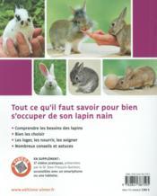 Lapins nains - 4ème de couverture - Format classique
