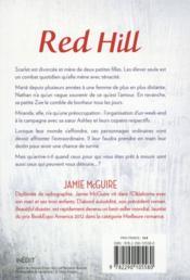 Red hill - 4ème de couverture - Format classique