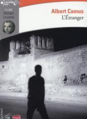 L'étranger - Couverture - Format classique