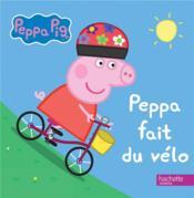 Peppa fait du vélo - Couverture - Format classique
