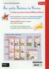 Ma petite histoire de France ! - 4ème de couverture - Format classique