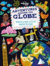 Adventures around the globe ; world atlas - Couverture - Format classique