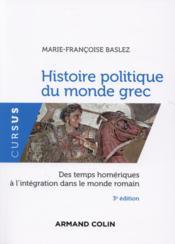Histoire politique du monde grec - Couverture - Format classique