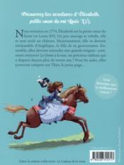 Elisabeth, princesse à Versailles T.1 ; le secret de l'automate - 4ème de couverture - Format classique