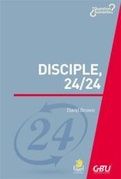Disciple 24/24 - Couverture - Format classique