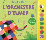 L'orchestre d'Elmer - Couverture - Format classique
