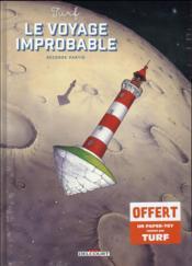 Le voyage improbable t.2 - Couverture - Format classique