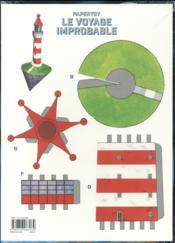 Le voyage improbable t.2 - 4ème de couverture - Format classique