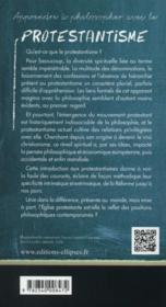 Le Protestantisme - 4ème de couverture - Format classique