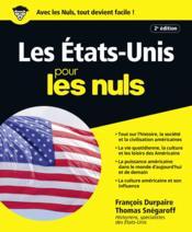 Les Etats-Unis pour les nuls (2e édition) - Couverture - Format classique