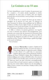 La Guinée a eu 55 ans, et maintenant ? - 4ème de couverture - Format classique