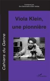 Viola Klein, une pionnière - Couverture - Format classique