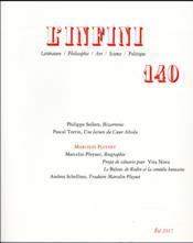 Revue L'Infini N.140 - Couverture - Format classique