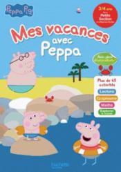 Mes vacances avec Peppa ; PS à MS - Couverture - Format classique
