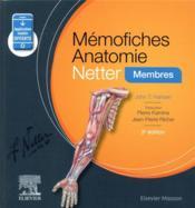 Mémo-fiches ; anatomie Netter ; membres (5e édition) - Couverture - Format classique