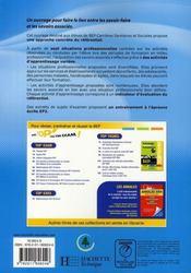 Nutrition-alimentation bep css - livre eleve - ed.2008 - 4ème de couverture - Format classique
