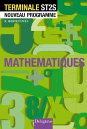 Mathématiques ; terminale st2s; nouveau programme ; élève (8e édition) - Couverture - Format classique